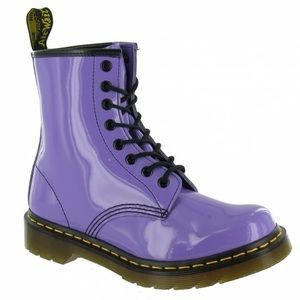 Doc Martens Air Wair Patent Boot 10 1460 Pascal
